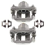 A-Premium Brake Caliper with Bracket Compatible with Nissan Rogue 2008-2013 Rogue Select 2014-2015 Rear Side 2-PC Set