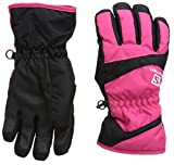 Salomon Juniors' Electre Glove Hot Pink / Black Large