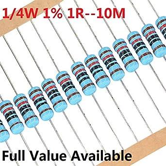 Pack of 100 HongYeTaja Carbon Film Resistor 47K Ohms 1//2 W 5/%