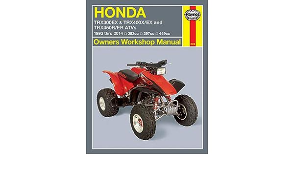 99 – 06 Honda TRX400EX: Haynes Manual de reparación: Amazon ...