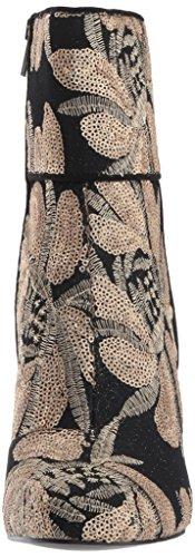 Moda Mujeres Sequin Botas Gold Cerrada Talla Steve Goldie Punta De Madden Oq05w0