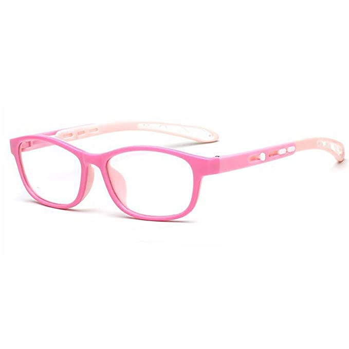 99cd3d185af Fantia Kids Eyeglass Frame Children Soft Non-optical Frames Clear Lens  (c1