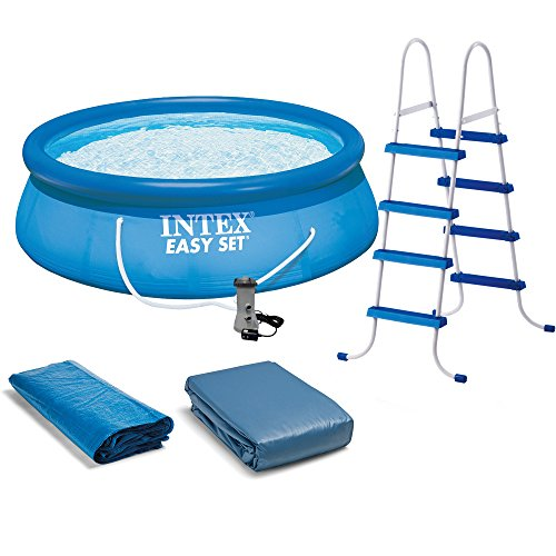 Intex Easy Set Pool Set, 15-Feet by 48-Inch, Blue by Intex
