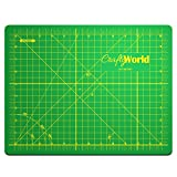 Professional Self Healing Cutting Mat 9x12 Inch for Sewing, Quilting, or Any Other Crafts or Hobbies - Thick Double Sided Cutting Mat Re-Seals After Every Cut - Strong, Durable and Long Lasting