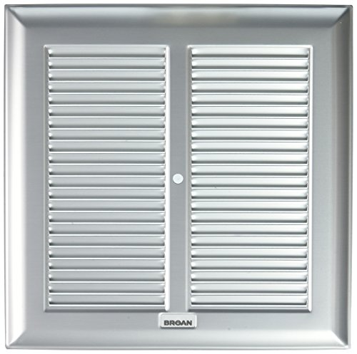 Broan-Nutone BP24 Grille and Metal Bath Fan for 660, 662, 664, 665, 666 and 668 Nutone Bath Fans