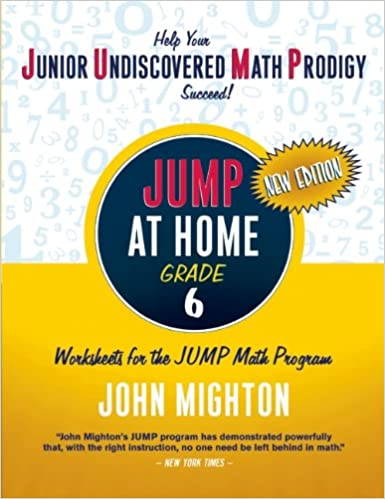 Amazon.com: JUMP at Home Grade 6: Worksheets for the JUMP Math ...