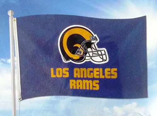 Los Angeles Rams RETRO Design 3x5 Flag w/Grommets Outdoor House Banner Football by Stockdale