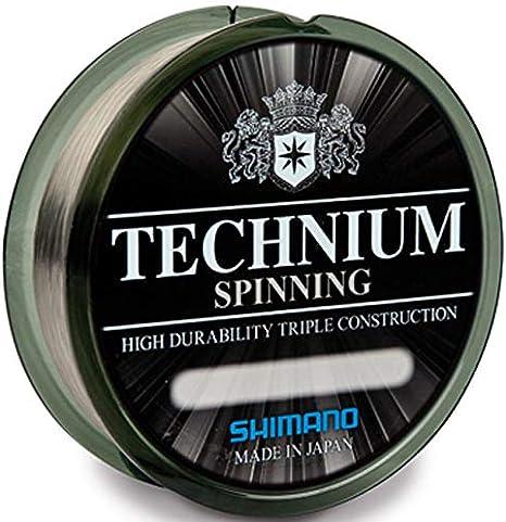 Shimano - Technium Spinning - Sedal de 0,25 mm de grosor (150 m ...