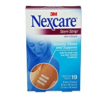 Nexcare Steri-Strip Skin Closures, Assorted Sizes, 19 Count