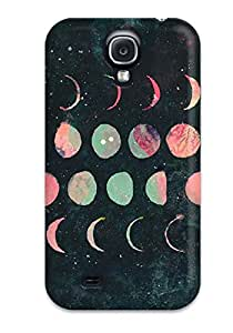 New Galaxy S4 Case Cover Casing(moon Phases)
