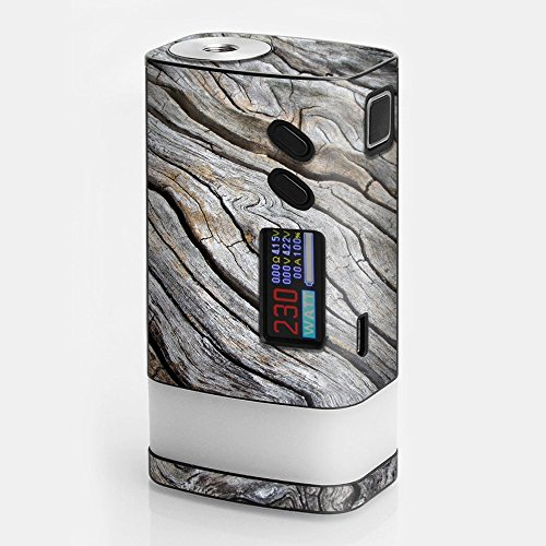 Glow Oak Log - Skin Decal Vinyl Wrap for Sigelei Fuchai Glo 230W tc Vape Skins Stickers Cover / Drift Wood Reclaimed Oak Log