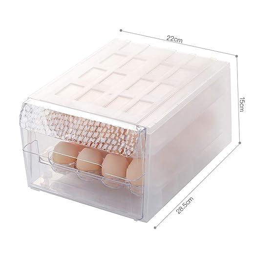 Nevera de Cocina Caja de Almacenamiento de Huevos Cajón de ...