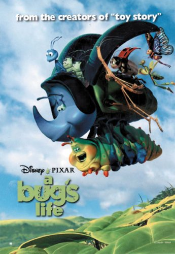 A Bug's Life - Movie Poster: Style B (Size: 27'' x 39'')