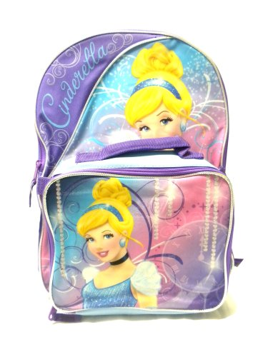 Disney Cinderella Backpack Matching Lunch