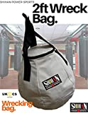 White Wrecking Ball Uppercut Boxing Punch/Kick Bag