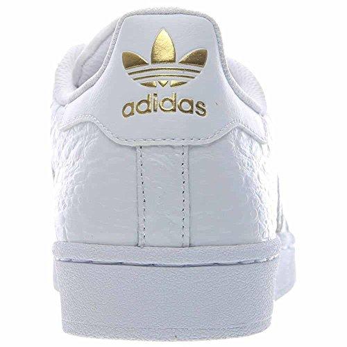 Adidas Superstar Mens Stil: Aq6686-wht / Guld Storlek: 8 M Oss