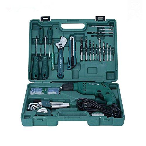 SATA 35 Pcs 220V Construction&Installation Tool Set 05158 by Sata