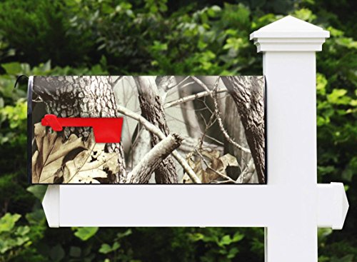 Awesome Mailbox - Camo Live 7 Design - Metal, Post Mount and Made in the USA