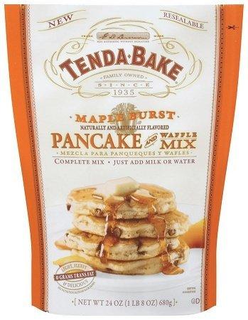 - Tenda-Bake Maple Burst Pancake and Waffle Mix 24oz