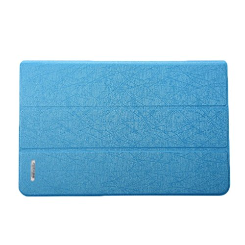 YiJee PU Cuero Shell Duro de Clip Snap para Macbook Air 11.6/13.3 Pulgadas 11.6 Inch Azul