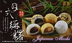 Japanese style Mogi rice cakes have always been popular in Taiwan. They are delicious with a cup of green tea or oolong tea. It is fun to share with the family or friends. Great for the party. 3 Different Flavors with 5 each: Red Bean (white)...