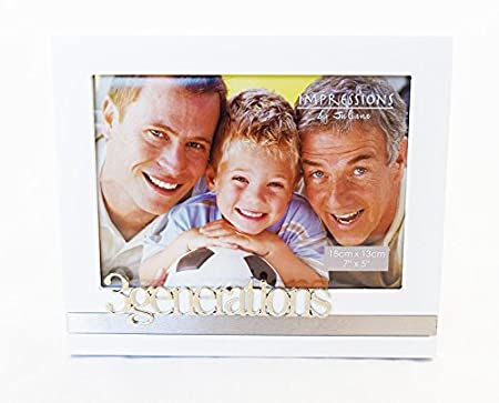 3 Generations Photo Frame Family Love Sentimental Picture Gift ...