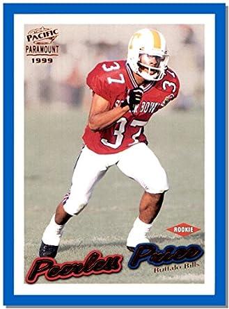 1999 Pacific Football Card Paramount Copper 29 Peerless Price TENNESSEE VOLUNTEERS BUFFALO BILLS