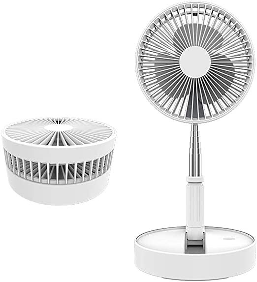 Ventilador plegable retráctil Modo de 4 vientos Ventilador de ...