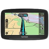 """TomTom Start 52 - Mapas de Europa para toda la vida, avisos de radares de tráfico (pantalla 5"""", indicador de carril, versión europea España, Italia, Portugal)"""