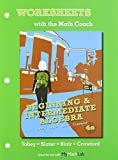 Worksheets with the Math Coach for Beginning and Intermediate Algebra, Tobey, John and Slater, Jeffrey, 0321780558