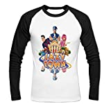 Mens Lazytown Baseball T-shirt