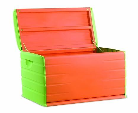 Cassapanca Plastica Per Giocattoli.Baule Cassapanca In Resina Space Saver Mis 80x61x53 Colorato