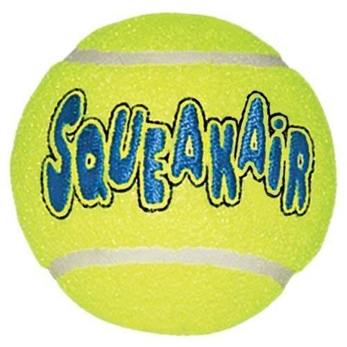 51rlkXyrMdL. SS500  - KONG Air Dog Squeak Air Tennis Ball Dog Toy