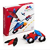 WowWee Magnaflex - Vehicles Set (22 pieces) - Flexible Magnetic Construction Kit