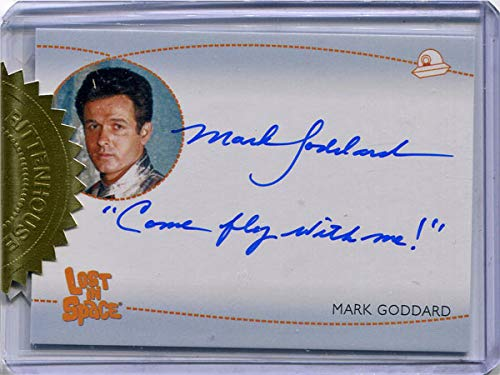 "Lost in Space Archives S2 AI5 Autograph Mark Goddard as Don West""Come fly."""