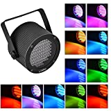 Litake Stage Lights 86 LED RGB Party Lights, DMX-512 Stage Lighting Laser Projector Par Lights for Party Disco Show Pub KTV Dj Light