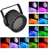 Litake Stage Lights 86 LED RGB Party Lights, DMX-512 Stage Lighting Laser Projector Par Lights for Party Disco Show Pub KTV Dj Light