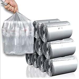 Tres rollos de bolsas de basura portátiles negras no están ...
