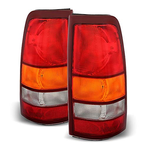 (ACANII - For 1999-2002 Chevy Silverado 1999-2006 GMC Sierra Replacement Tail Lights Lamps Set)