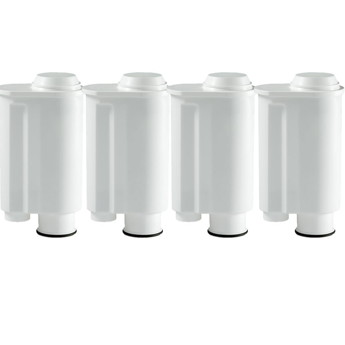 4 Wasserfilter-Patronen passend für Kaffeemaschinen von Saeco-Philipps-Intenza, Lavazza Gaggia, wie Original Saeco CA6702/00 Universitea of Tea