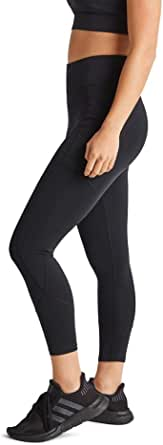 Rockwear Activewear Women's Ag Op Luxe Tight Black 10 from Size 4-18 for Ankle Grazer High Bottoms Leggings + Yoga Pants+ Yoga Tights