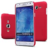 J7 Case, Samsung Galaxy J7 Case, Dretal@ High Quality Ultra-thin Frosted Hard Case Slim Cover with Hd Screen Protector for Samsung Galaxy J7 Smartphone (Hard-Red)
