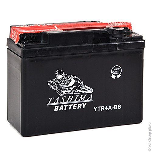 Tashima - Batteria moto YTR4A-BS 12V 2.3Ah