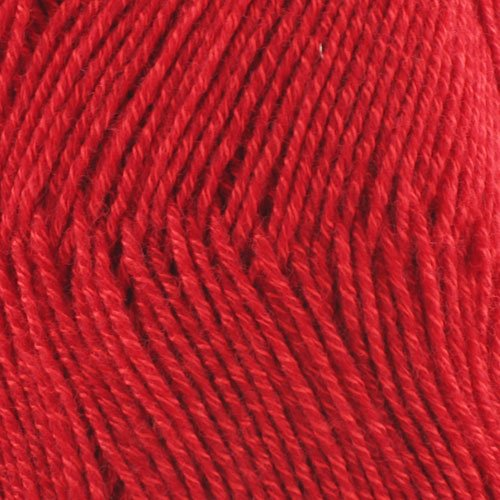 Super Fine Weight Soft and Slim Color 9914 Ruby Red - BambooMN - 4 Skeins