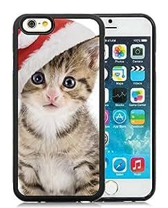 Custom Case Cover For SamSung Galaxy S3 Christmas Cat Black Hard Case 24