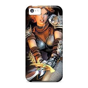 Unique Design Iphone 5c Durable Tpu Case Cover Dungeon