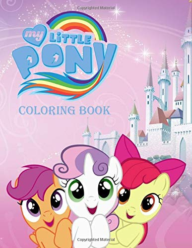 My Little Pony Coloring Book  Great Coloring Pages For Kids   Ages 3   7