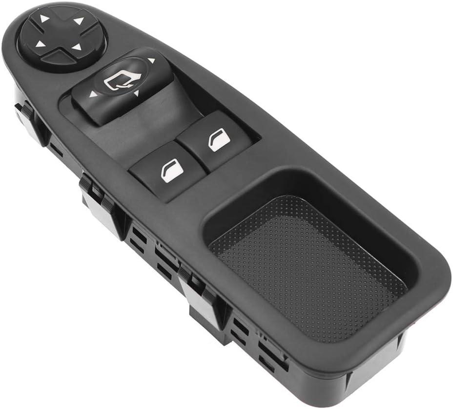 KAOLALI Lev/é Vitre Avant Gauche Drive C/ÔT/É Vitre /Électrique Interrupteur Principal 6554.ZJ Interrupteur de L/ève-Vitre Compatible pour Citroen Jumpy Dispatch Peugeot Expert Master Fiat Scudo 2007-2016
