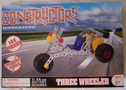 Constructors Motorized Three Wheeler Building Kit