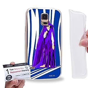 Case88 [Samsung Galaxy S5] Gel TPU Carcasa/Funda & Tarjeta de garantía - Art Teen Personalities Tonight We Are Young B 2599